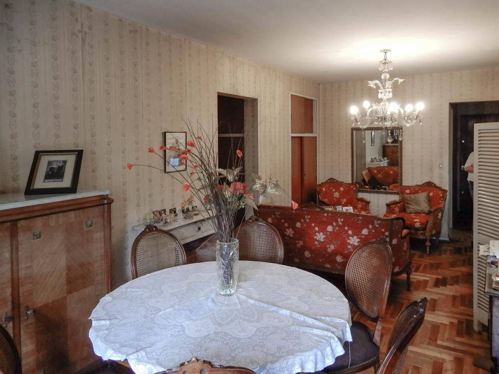 The living and dining-room