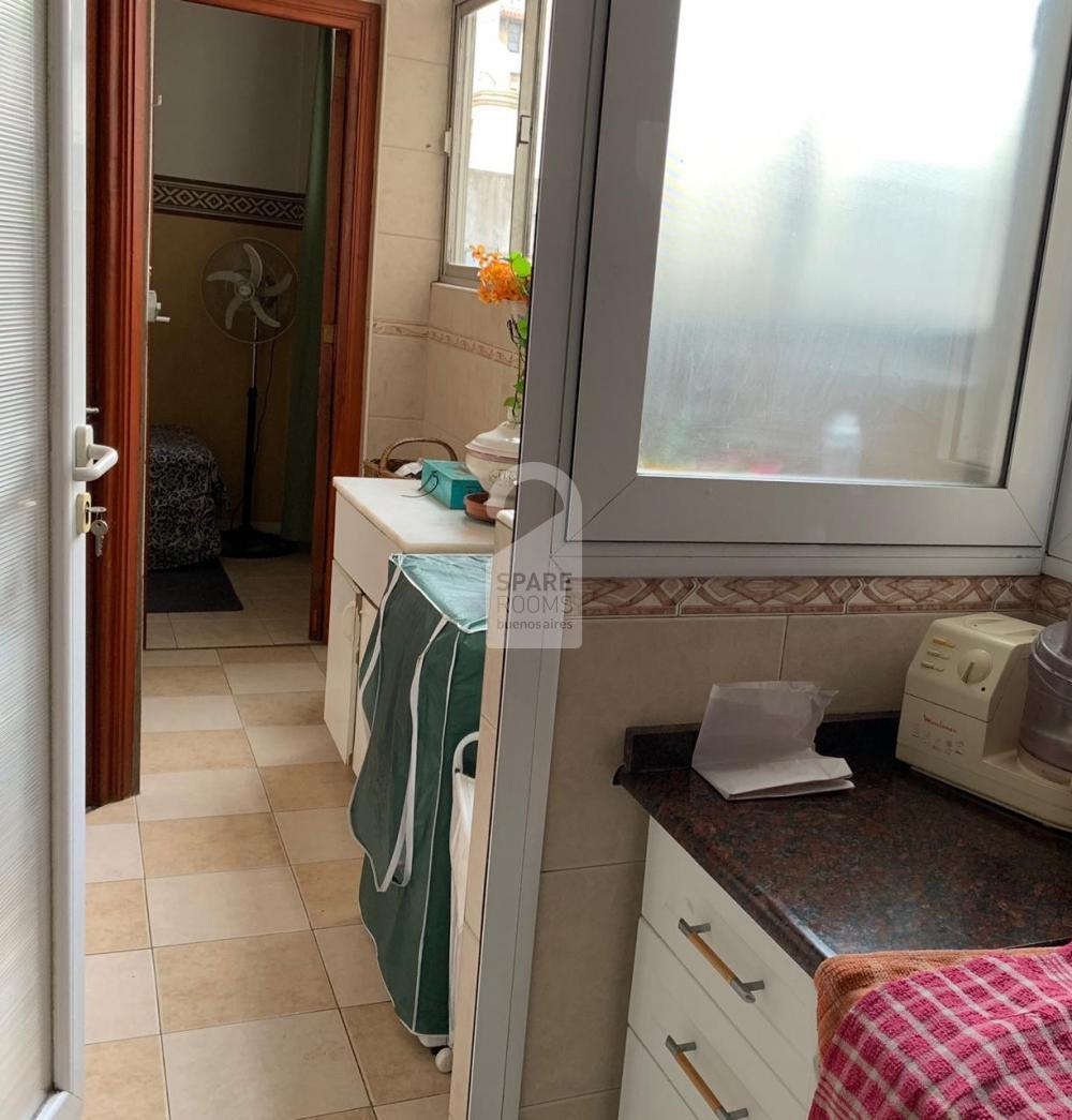 Lavadero pasillo a habitacion