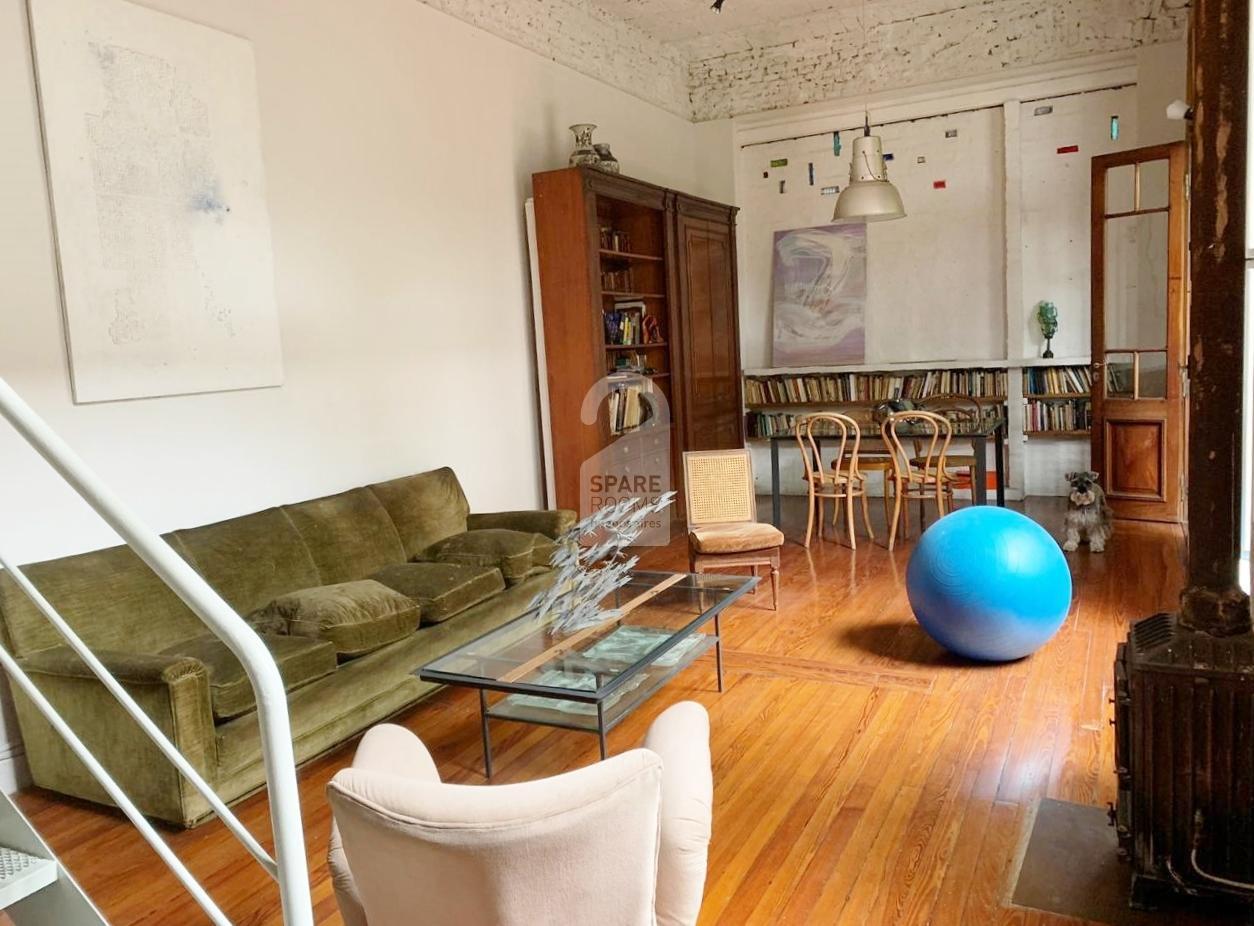 The LivingRoom/Dining Room