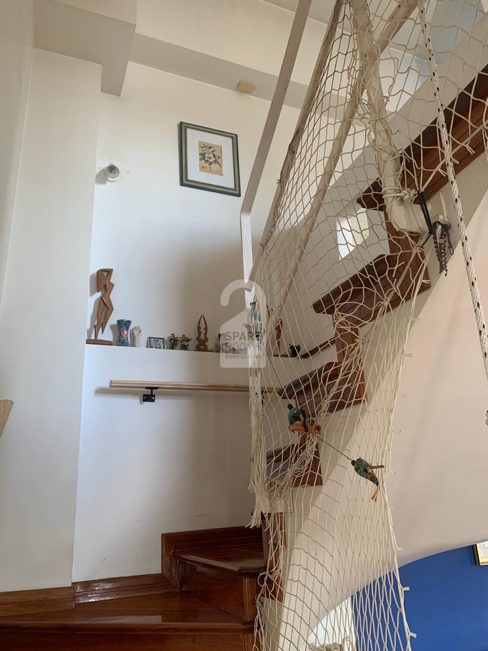 Stairs to the room