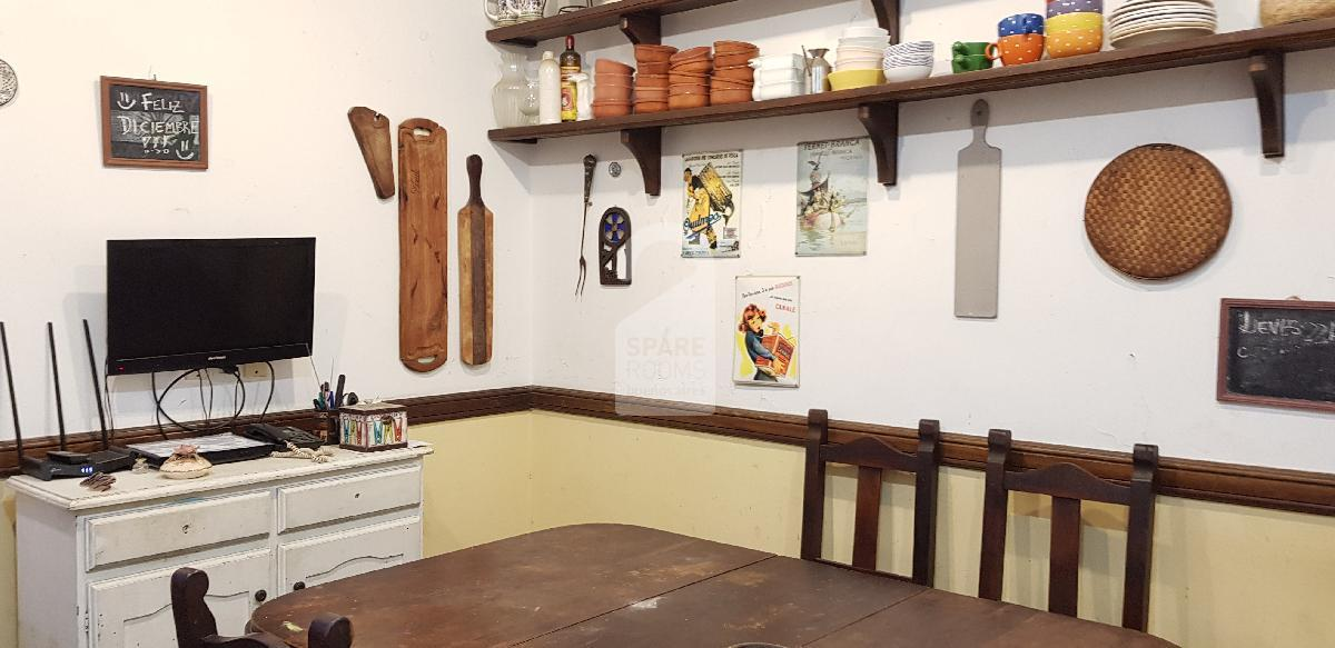 The main kitchen