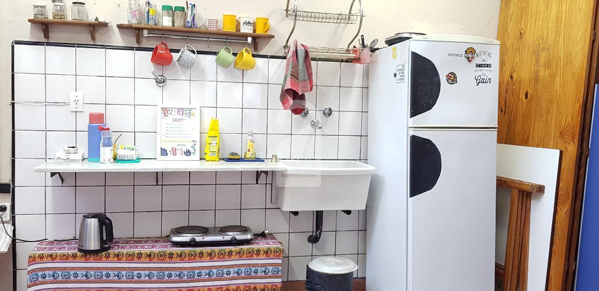 La cocina en el segundo piso