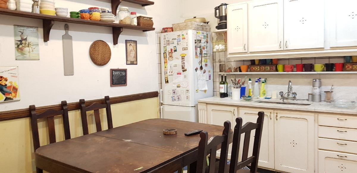 The main kitchen