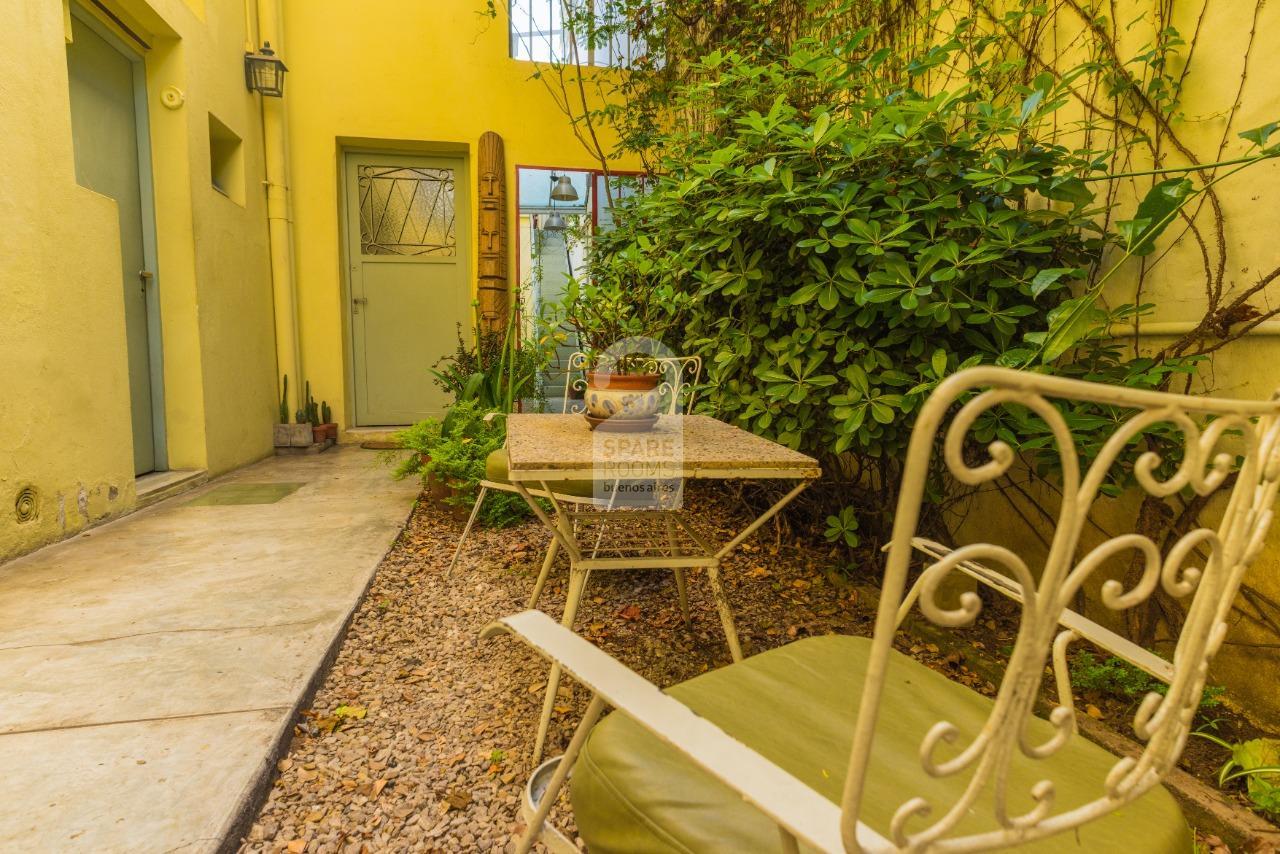Frontside patio