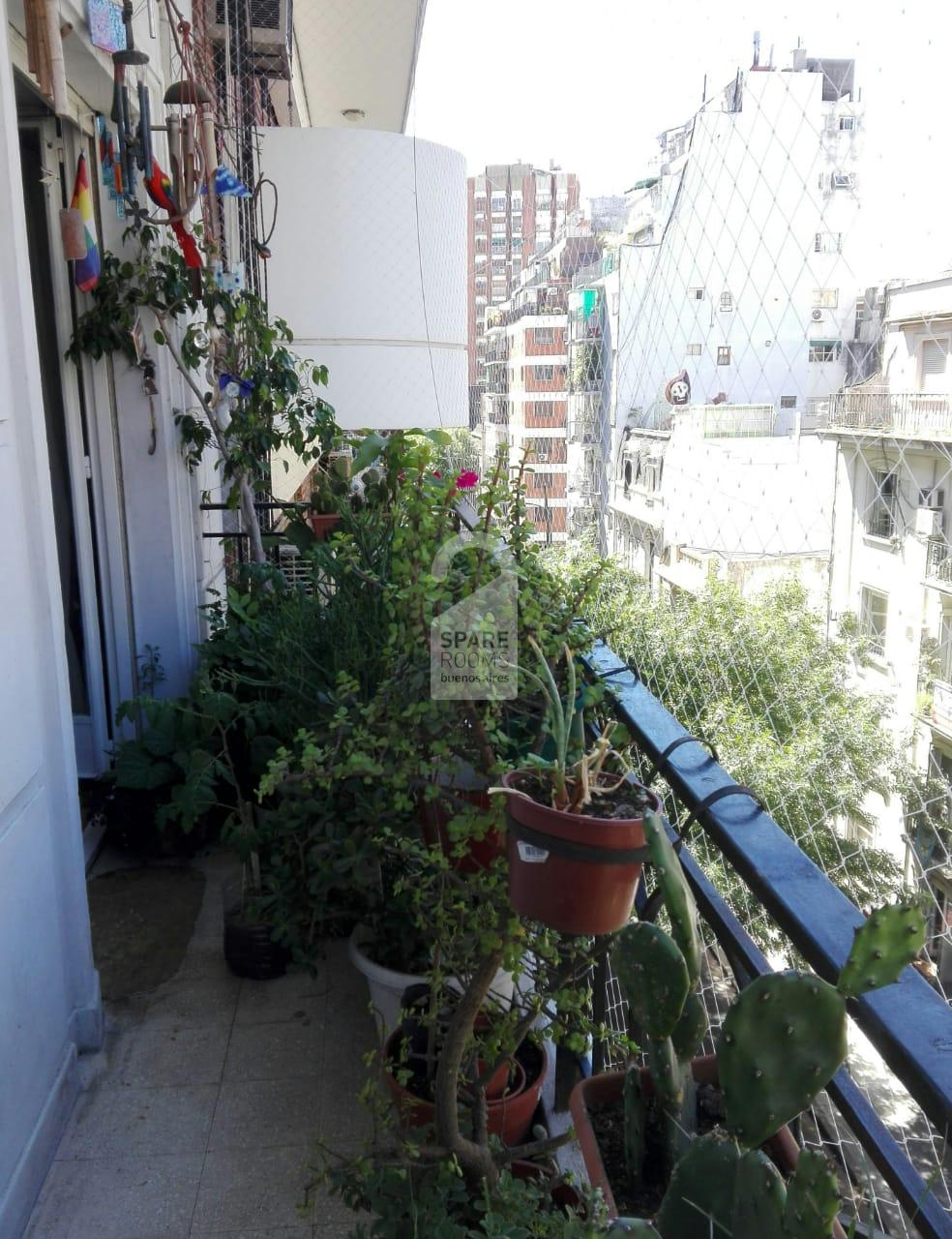 THE BALCONY at the apartment in Palermo