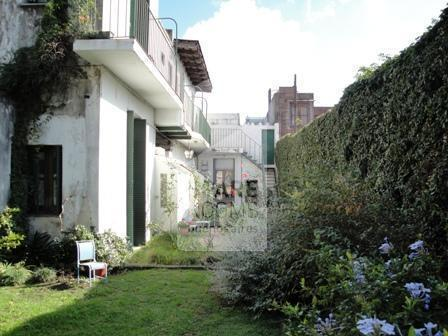 The beautiful garden at the house in Palermo