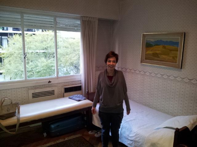 Francesca nos visita desde Italia