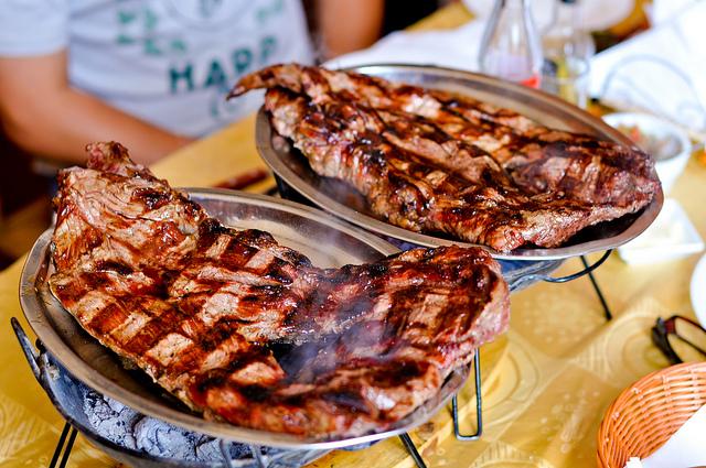 El famoso asado Argentino