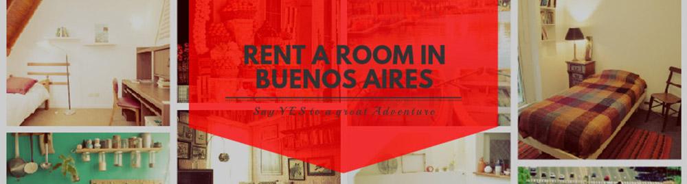 Alquiler de habitación en Buenos Aires - Rent a room in Buenos Aires