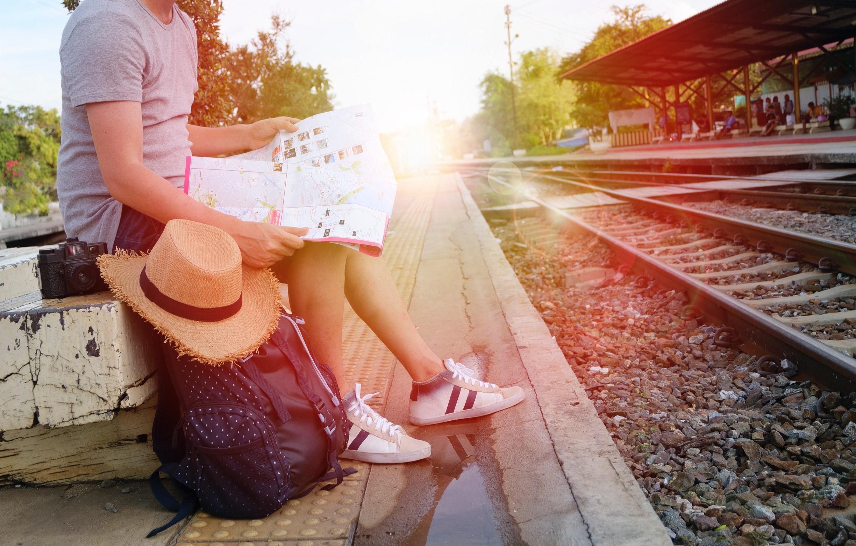 viajeros felices